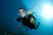male scuba diver