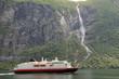 Ferry on Geirangerfjord