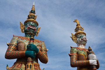 Giant guards from Ramayana