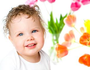 blue-eyed babe