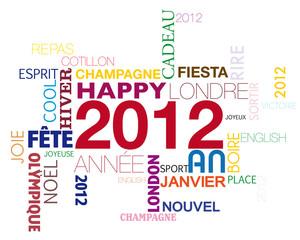 2012, mots en relation avec l'année 2012