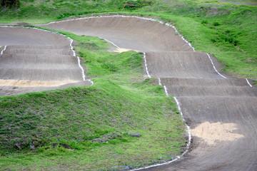 piste cyclo cross, Cilaos, île de la Réunion