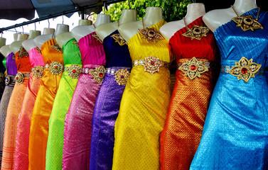 Thai dance dress