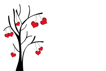 kalp ve ağaç