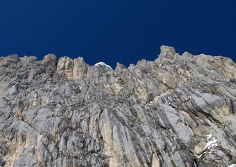 Corno Piccolo's winter wall, Abruzzo
