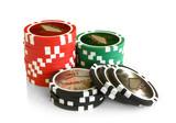 Fototapety Casino chips