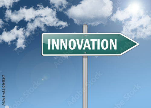 "Signpost ""Innovation"""