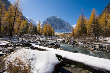 Aktru river