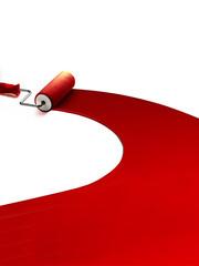 pennellata rossa