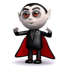 3d Dracula hypnotises