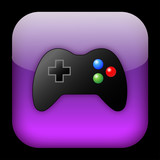 VIDEO GAMES Web Button (play online gamepad joypad control pad) poster