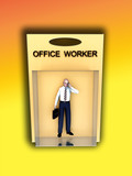 Toy Office Worker