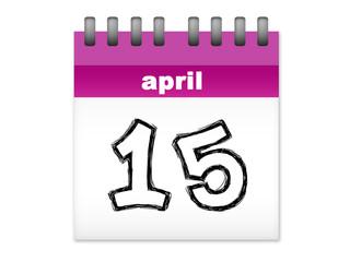 calendar april 15