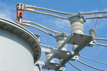 High-voltage equipment.