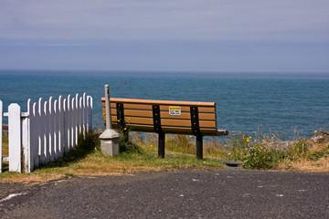 Empty Ocean Bench
