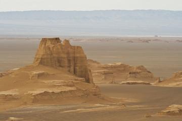 Desert country nearby Kerman, South Iran.