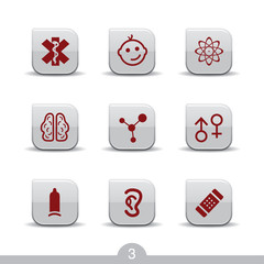 Medical icons 3...smooth series