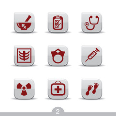 Medical icons 2...smooth series