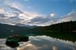 Resting boats, Montenegro, Durmitor,  Black lake