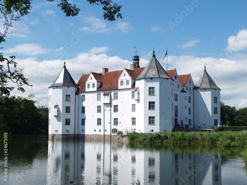 Leinwandbild Motiv Wasserschloss