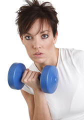 Attractive Female Fitness Instructor