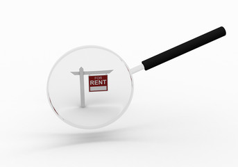 small symbol of a successful real estate