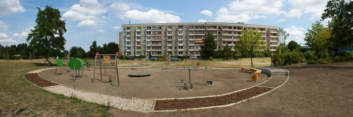 Seniorenspielplatz in Magdeburg - Olvenstedt