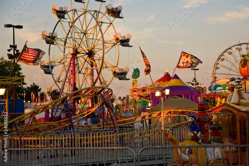 Plexiglas Carnaval Ohio State Fair