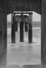 abandoned pier davenport california