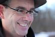 Mann mit Hut und Brille - Portrait