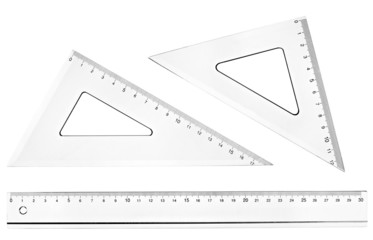 plastic ruler math geometry school education