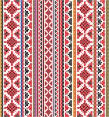 American textile pattern