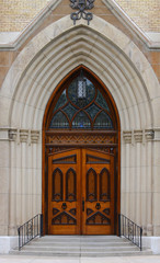 Ornate Door Entry