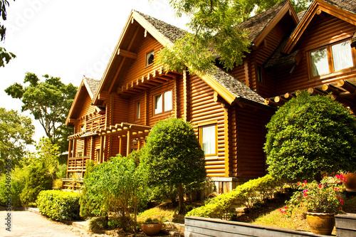 Fotobehang Natuur Park residential