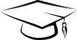 graduate cap - 24696044