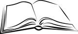 Fototapete Bücher - öffnen - Buch