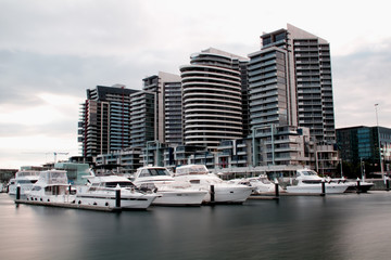 View of Melbourne Docklands