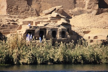 temple le long du Nil