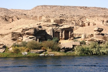 paysage le long du Nil