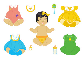 Asian baby-girl