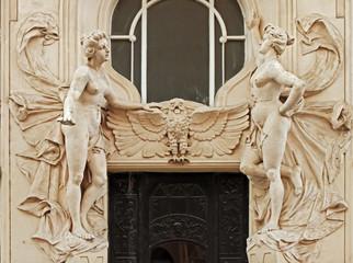 prague, door entrance