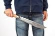 Junger Gewalttäter mit Machete