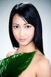 femme asiatique concept beauté nature