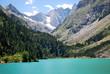 Le Vignemale et le lac de Gaube