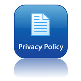 PRIVACY POLICY Web Button (company terms and conditions legal) poster