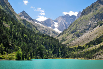 Depuis le lac de Gaube