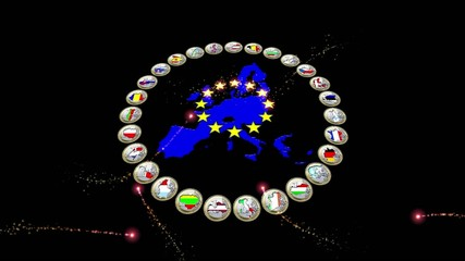 Video motion background: EU perspective