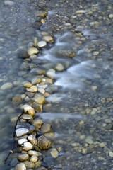 sanfter Wasserlauf