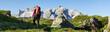 Wandern in den Bergen - 24710853