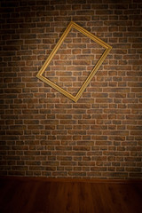 wall brick with frame